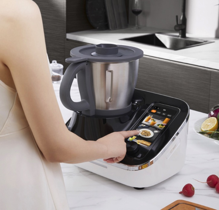 Xiaomi Ocooker kitchen machine touchscreen