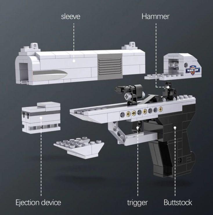 CaDA pistol parts