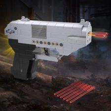 CaDA pistol with ammunition