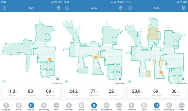 Proscenic M6 Pro Robot Vacuum Cleaner App Mapping