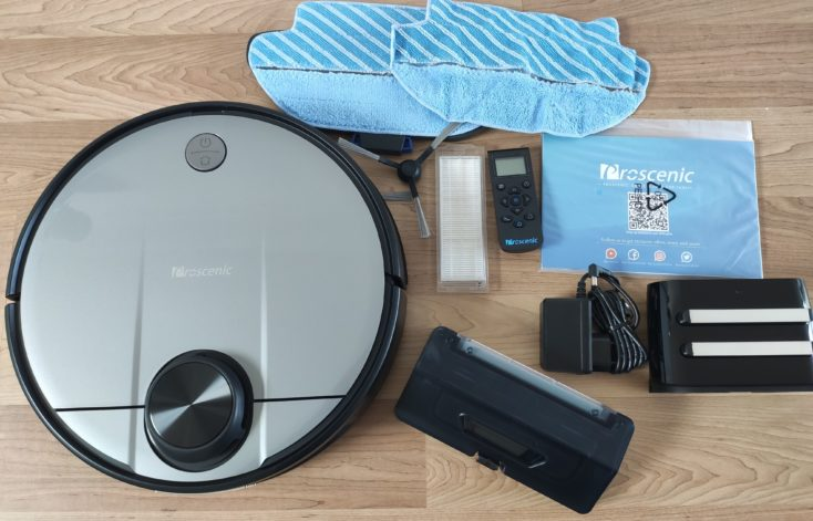 Proscenic M6 Pro Robot Vacuum Cleaner Scope of Delivery