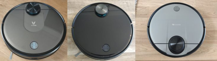 Proscenic M6 Pro robot vacuum cleaner comparison Viomi V2 V3