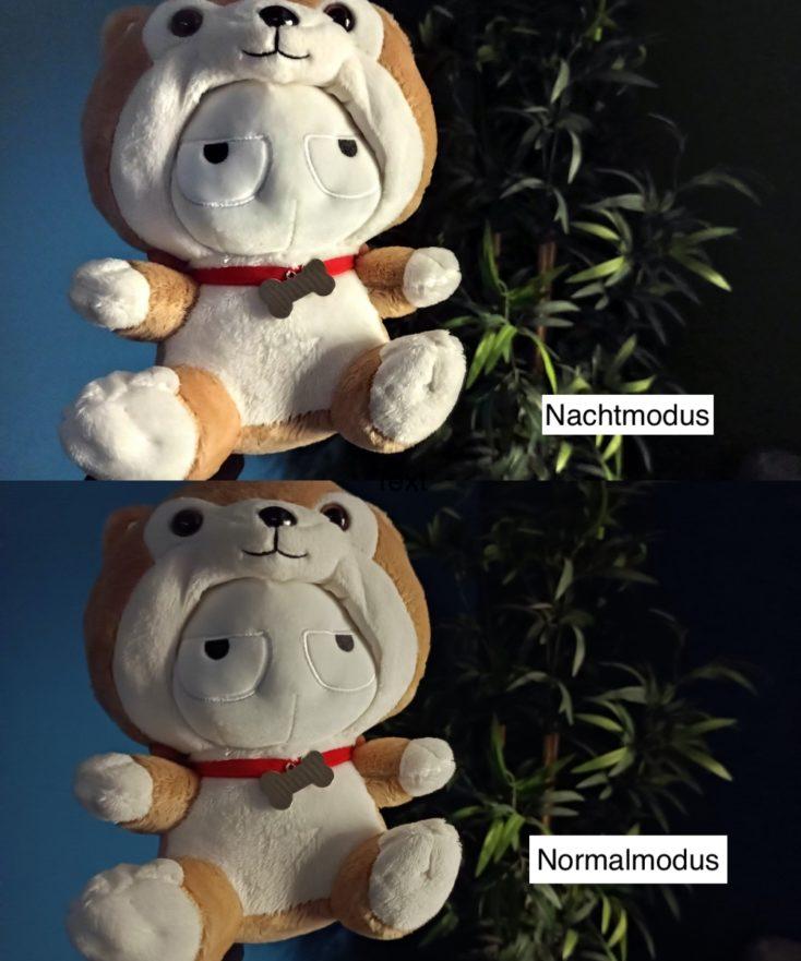 Redmi Note 9T test photo night mode comparison