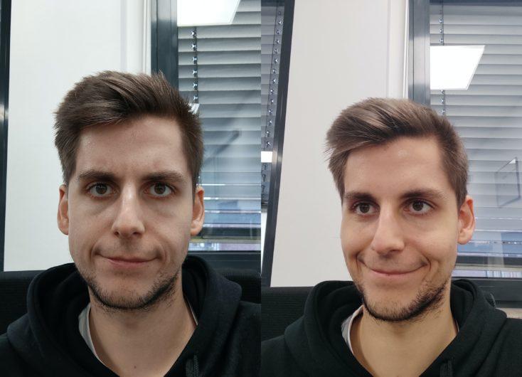 Redmi Note 9T vs Note 9 Pro front camera comparison