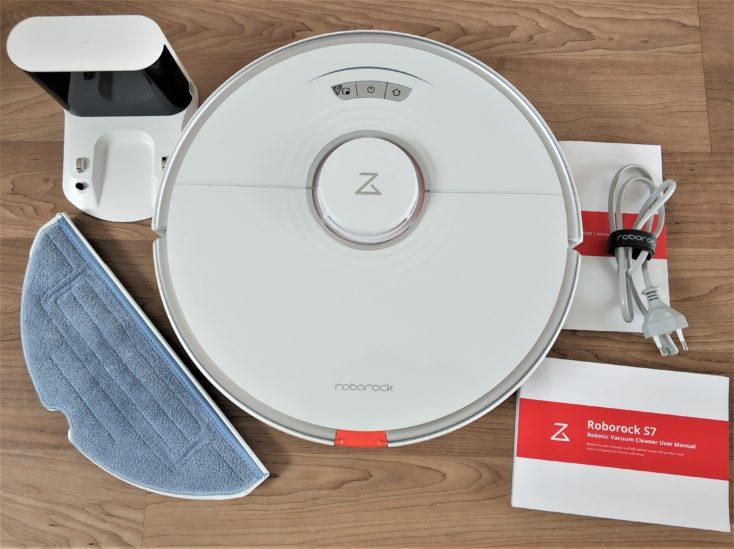 Roborock S7 Robot Vacuum Cleaner Scope of Delivery