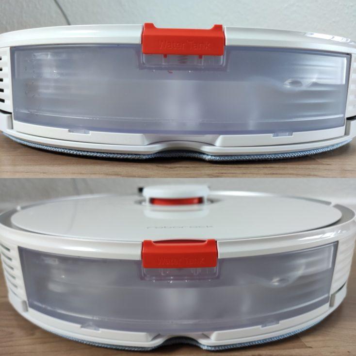 Roborock S7 Robot Vacuum Cleaner water tank with water