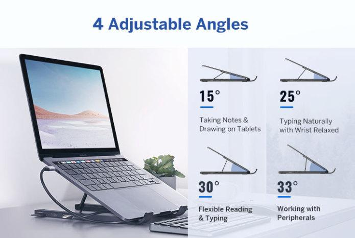 UGREEN X-Kit Laptop Stand angles