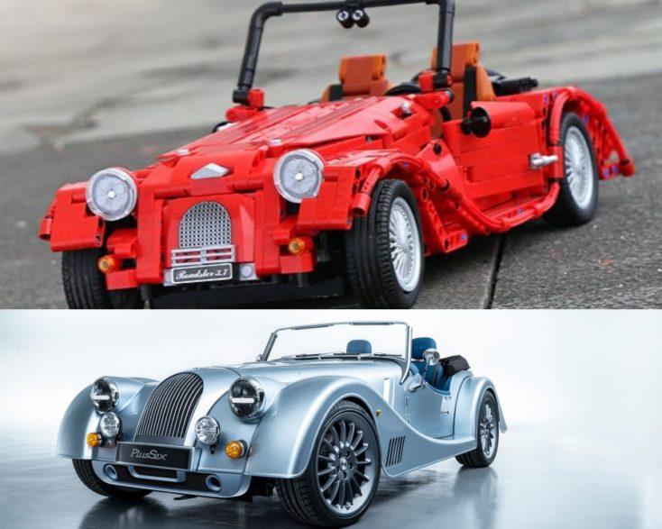 Vintage sports car comparison