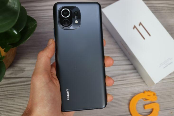 Xiaomi Mi 11 back
