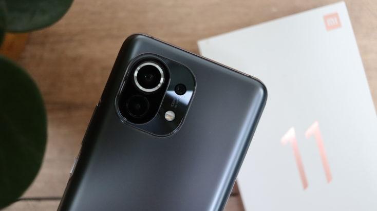 Xiaomi Mi 11 back slider