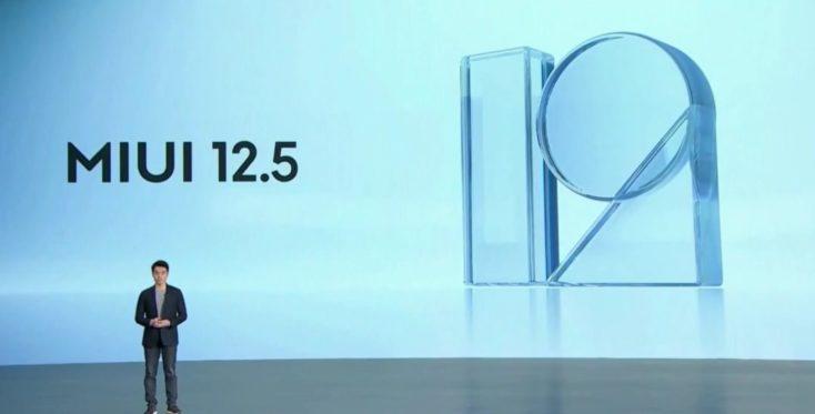 Xiaomi Mi 11 smartphone MIUI 12.5