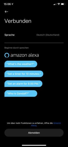 Xiaomi Mi Watch Alexa settings