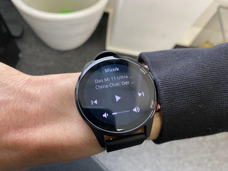 Xiaomi Mi Watch music control