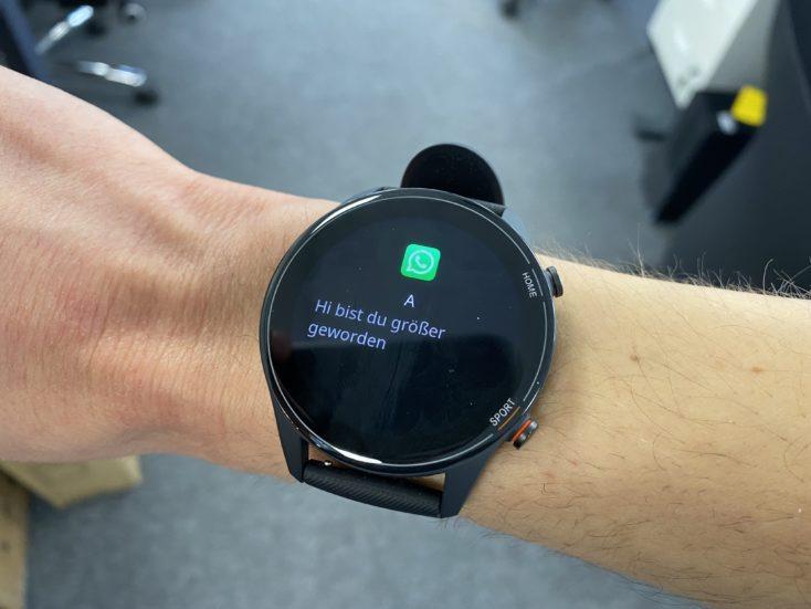 Xiaomi Mi Watch notifications