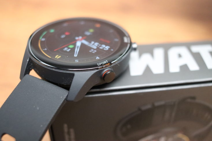 Xiaomi Mi Watch smartwatch button operation