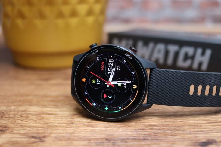 Xiaomi Mi Watch smartwatch display
