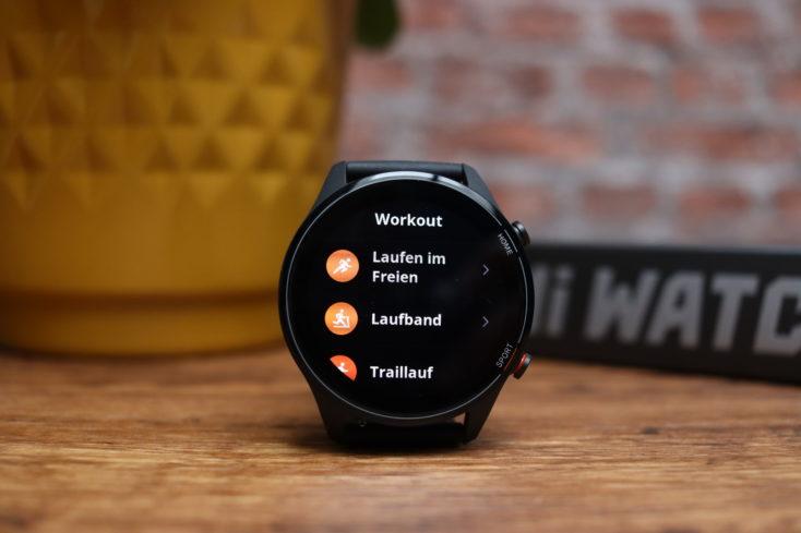 Xiaomi Mi Watch smartwatch sports modes