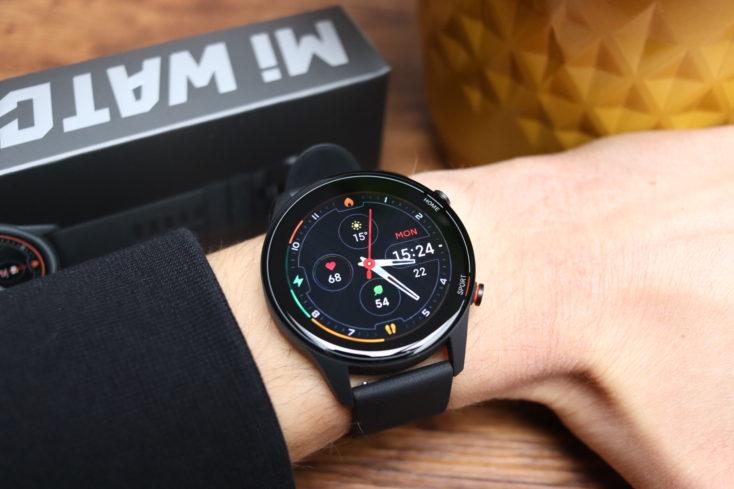 Xiaomi Mi Watch smartwatch wearing comfort