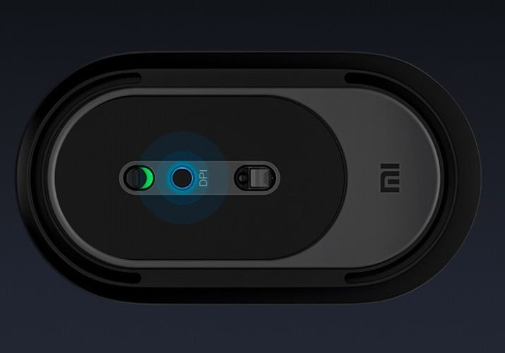 Xiaomi Portable Mouse 2 underside