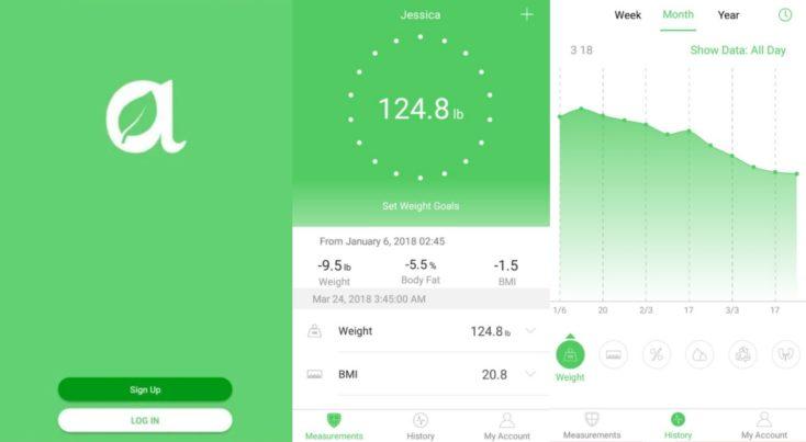 Arboleaf smart scale app