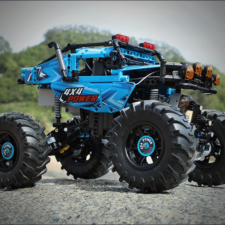 CaDA C61008W monster truck side view