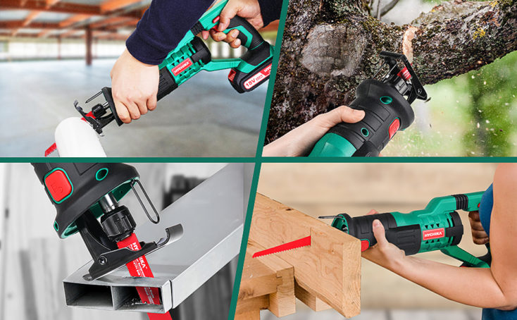 HYCHIKA 18V cordless reciprocating saw saws