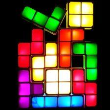 Tetris deco light combination possibilities