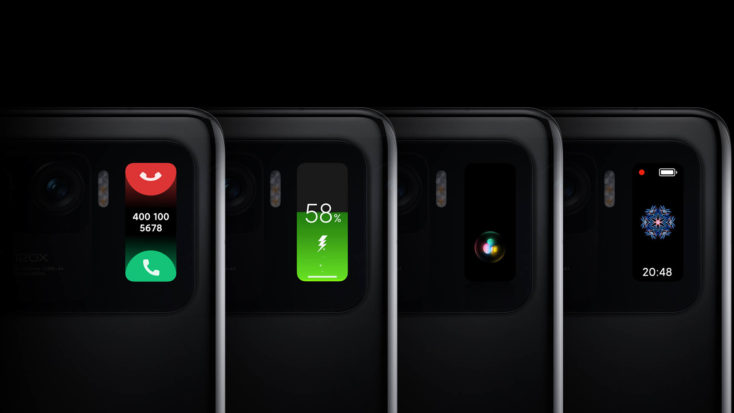 Xiaomi Mi 11 Ultra Display backside