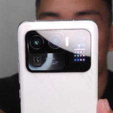 Xiaomi Mi 11 Ultra camera back display
