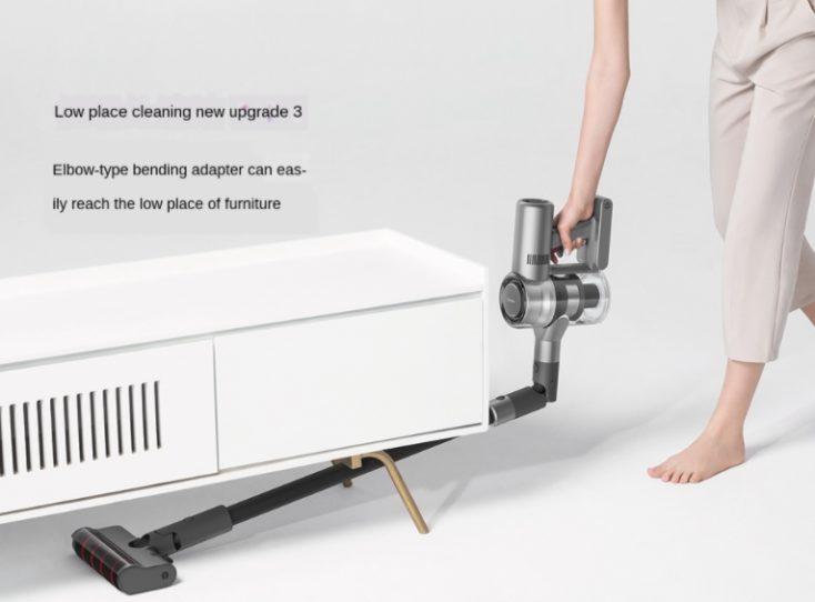 Dreame V12 cordless vacuum cleaner flexible vacuum tube