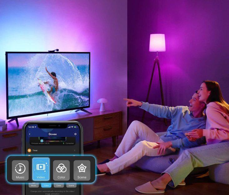 Govee WiFi LED TV Backlight App
