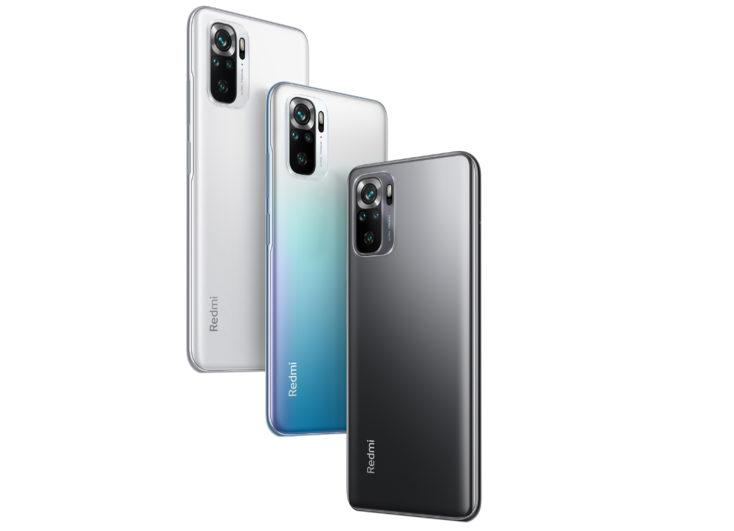 Redmi Note 10S smartphone colors