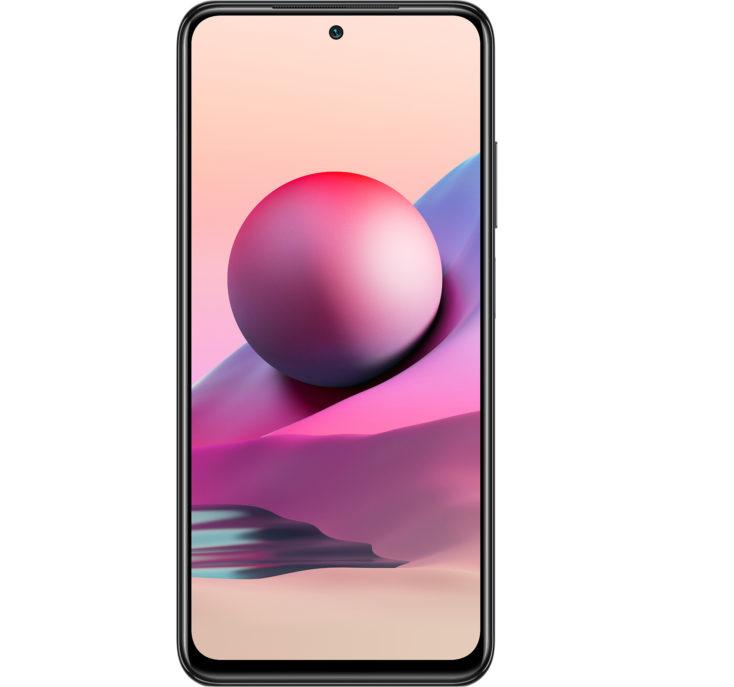 Redmi Note 10S smartphone display