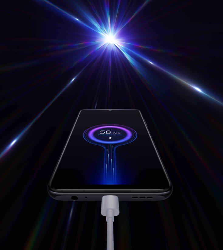 Redmi Note 10 33W charging
