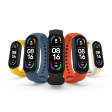 Xiaomi Mi Band 6 colors features