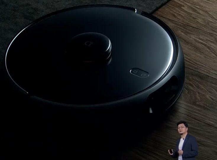 Xiaomi Mi Robot Pro Robot Vacuum Cleaner Launch Design