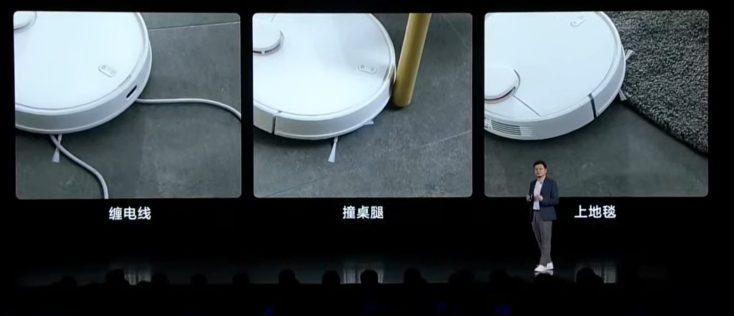 Xiaomi Mi Robot Pro vacuum robot launch difficulties obstacle detection