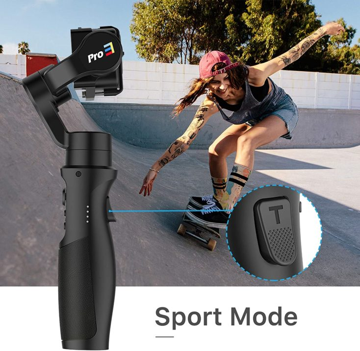 iSteady Pro 3 Gimbal Sport Mode