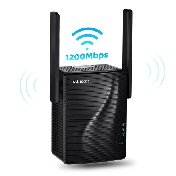 rockspace ac 1200 wifi repeater speed