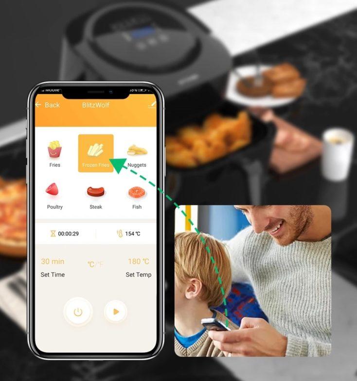 BlitzWolf BW-AF1 App