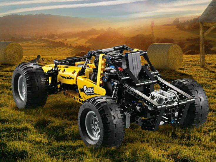 CaDA Buggy C51043W rear end