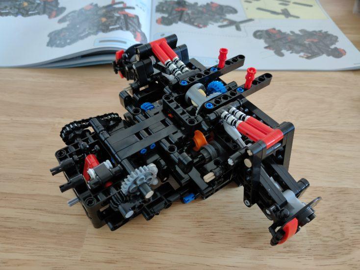 CaDA C61041 Rear axle and transmission