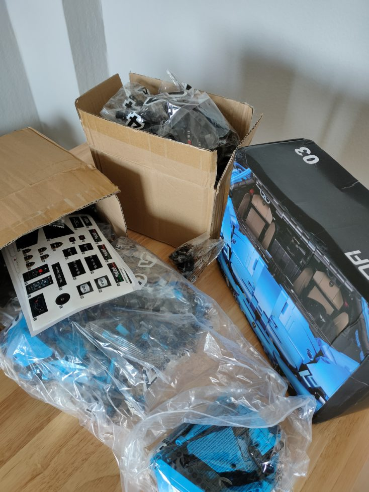 CaDA C61041 Shipping and Packaging