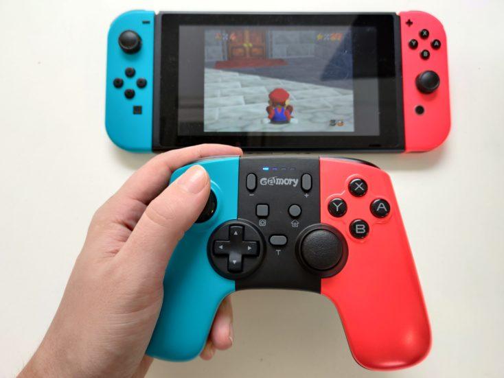 Gamory Nintendo Switch Controller hand