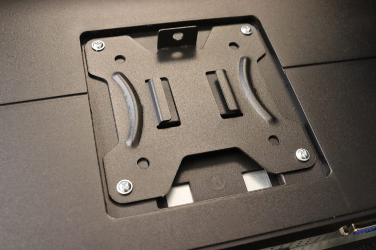 HUANUO monitor holder double installation plate