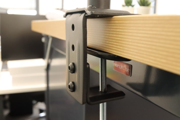 HUANUO monitor mount double table mount