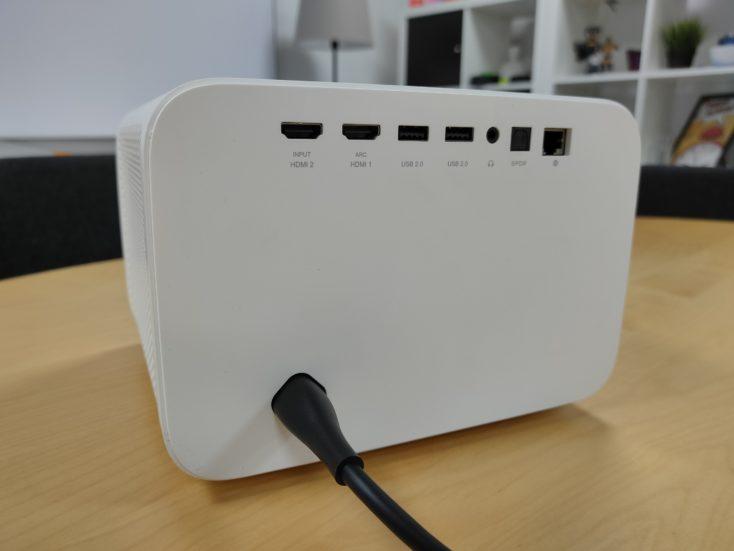 Mi Smart Projector 2 Pro Connectors