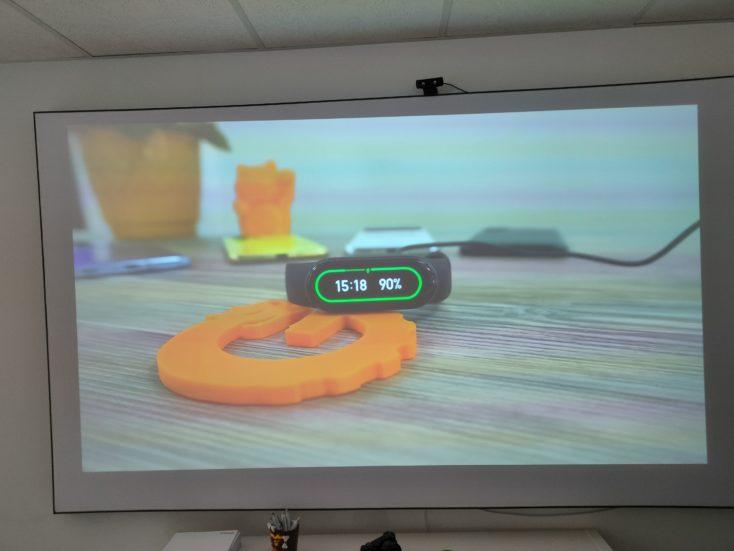 Mi Smart Projector 2 Pro beamer wall