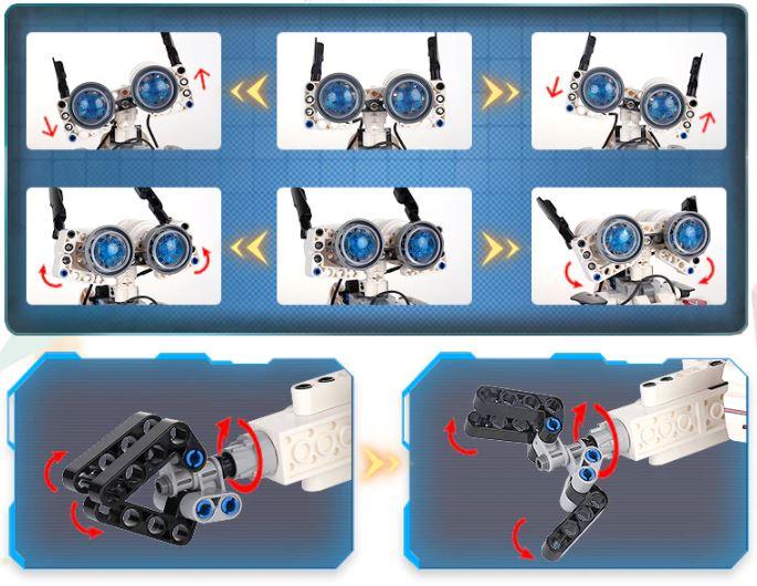Mould King robot facial expression