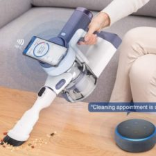 Tineco Pure One S12V cordless vacuum cleaner NFC Alexa voice control